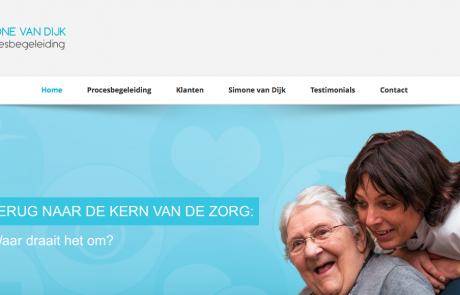 Website Simone van Dijk